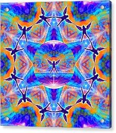 Acrylic Print featuring the digital art Mystic Universe Kk 15 by Derek Gedney
