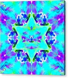 Acrylic Print featuring the digital art Mystic Universe Kk 8 by Derek Gedney