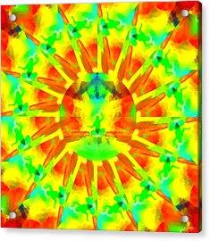 Acrylic Print featuring the digital art Mystic Universe Kk 9 by Derek Gedney