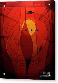 Mystical Composition Acrylic Print by Alberto DAssumpcao