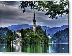 Mystical Lake Bled Acrylic Print