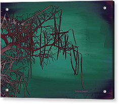 Mystical Landscape Acrylic Print by Lenore Senior
