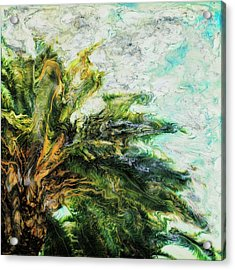 Mystical Palm Acrylic Print by Paul Tokarski