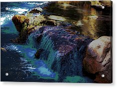 Mystical Springs Acrylic Print by DigiArt Diaries by Vicky B Fuller