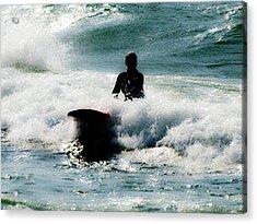Acrylic Print featuring the photograph Mystical Surf by Tara Lynn