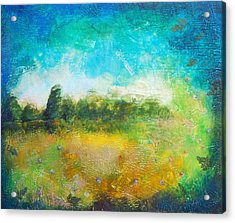 Mystical Trees Acrylic Print by Joya Paul