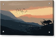 Mystical Valley Acrylic Print