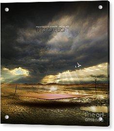 Mystical Light Acrylic Print by Franziskus Pfleghart