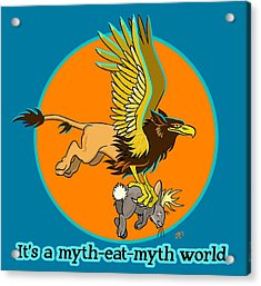 Mythhunter Acrylic Print