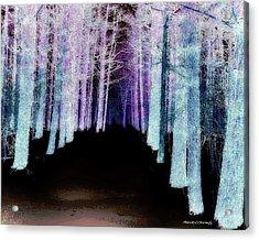 Mythical Forrest Acrylic Print