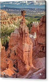 Acrylic Print featuring the photograph Mythological Thor's Hammer Hoodoo by Pierre Leclerc Photography