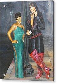 Mz Thang And Rick James Acrylic Print