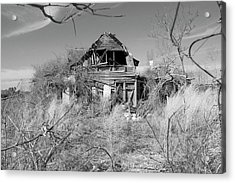 Acrylic Print featuring the photograph N C Ruins 2 by Mike McGlothlen