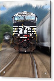 N S 8089 On The Move Acrylic Print