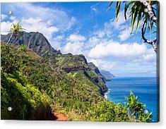 Na Pali Coast Kauai Acrylic Print by Brian Harig