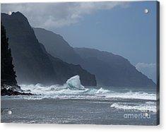 Na Pali Coast Acrylic Print by Loriannah Hespe