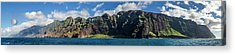 Na Pali Coast Panoramic Acrylic Print