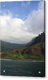 Na Pali Coast Valley Acrylic Print