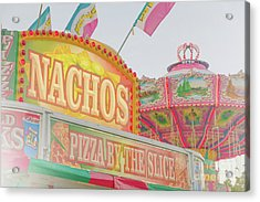Acrylic Print featuring the photograph Nachos by Cindy Garber Iverson