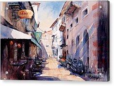 Nafplio Old Town 2 Acrylic Print