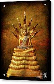 Acrylic Print featuring the photograph Naga Buddha by Adrian Evans