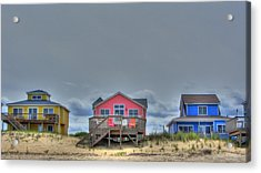 Nags Head Doll Houses Acrylic Print