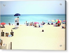 Acrylic Print featuring the photograph Nags Head by Lucian Capellaro