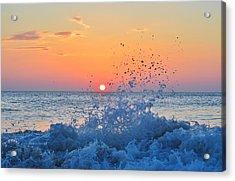 Nags Head Sunrise 7/15/16 Acrylic Print