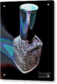 Nail Polish On The Stage Acrylic Print by Jasna Gopic