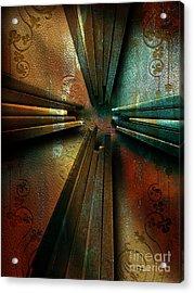 Nails Acrylic Print by Shevon Johnson