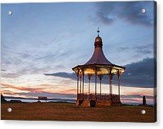 Nairn Bandstand At Dawn Acrylic Print