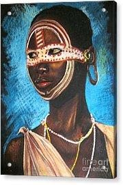 Nairobi Girl Acrylic Print