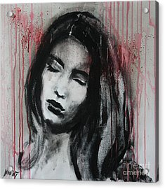 Naive Dreamer Acrylic Print by Jindra Noewi