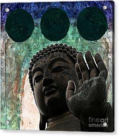 Namo Buddhaya Acrylic Print