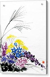 Nanakusa/ Autumn Seven Sisters Acrylic Print