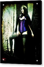 Nancy 1 Acrylic Print by Mark Baranowski