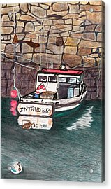 Nancy's Dirty Boat Acrylic Print