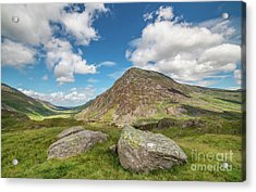 Acrylic Print featuring the photograph Nant Ffrancon Valley, Snowdonia by Adrian Evans