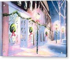 Nantucket Christmas Acrylic Print by Joseph Gallant