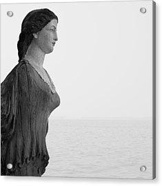Nantucket Figurehead Acrylic Print