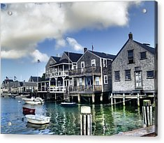 Nantucket Harbor In Summer Acrylic Print
