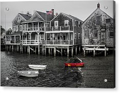 Nantucket In Bw Series 6139 Acrylic Print