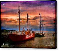 Nantucket Lightship Acrylic Print by Jeff Breiman