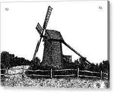 Nantucket Windmill Number Two Acrylic Print