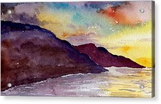 Napali Coast Kauai Hawaii Acrylic Print