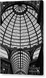 Naples Galleria Acrylic Print by John Rizzuto