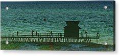 Naples Pier Acrylic Print