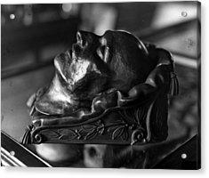 Napoleon Death Mask Acrylic Print