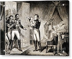 Napoleon I Presenting Newborn Son, 1811 Acrylic Print by Wellcome Images