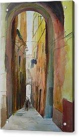 Napoli Acrylic Print